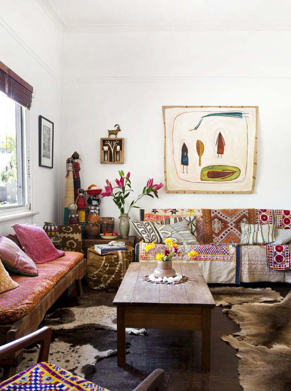 6. Bohemian-Chic-Living-Rooms-44-1-Kindesign