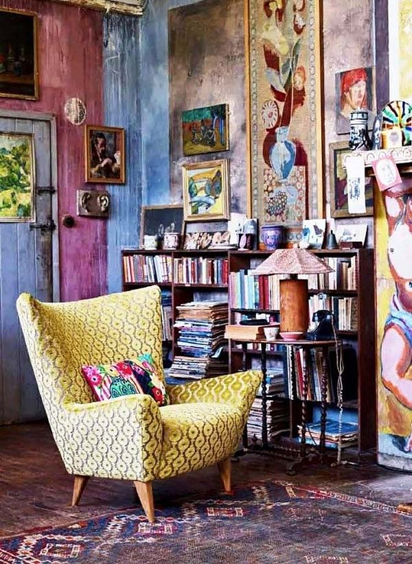 7. Bohemian-Chic-Living-Rooms-37-1-Kindesign
